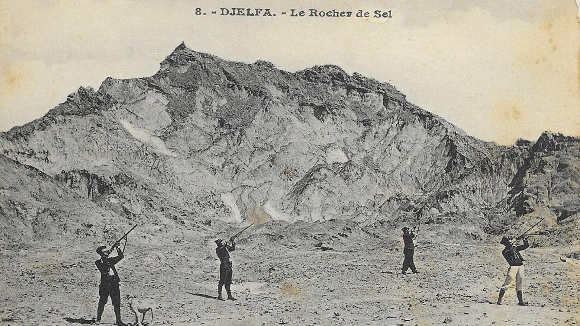 Djelfa-Rochers-de-Sel