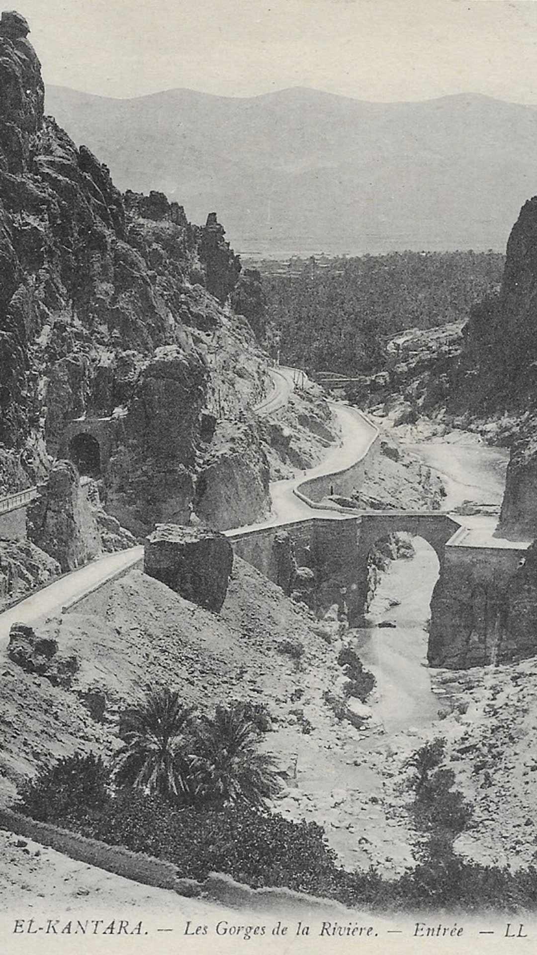 El-Kantara-Gorge