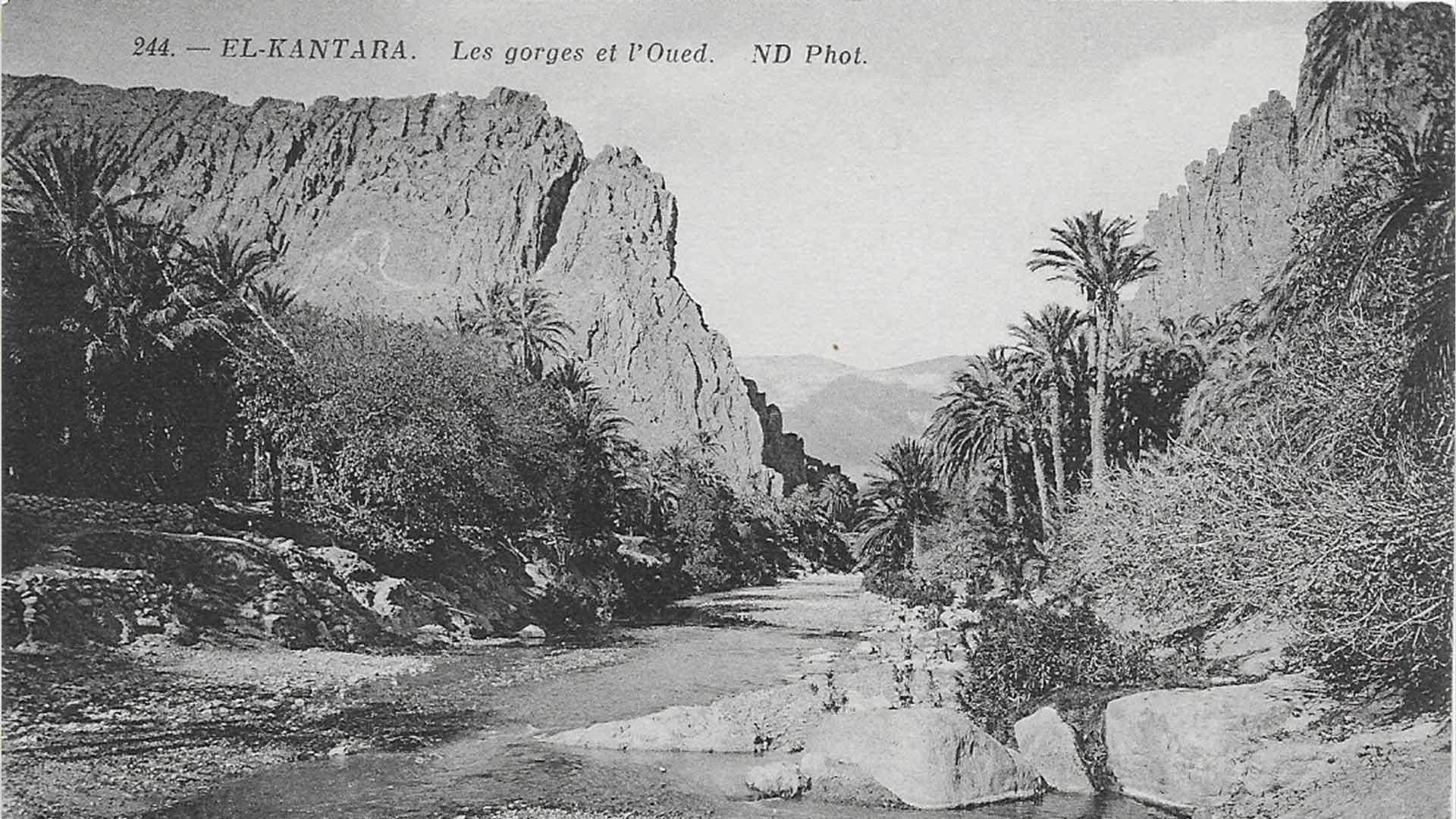 El-Kantara-Gorges-Oued