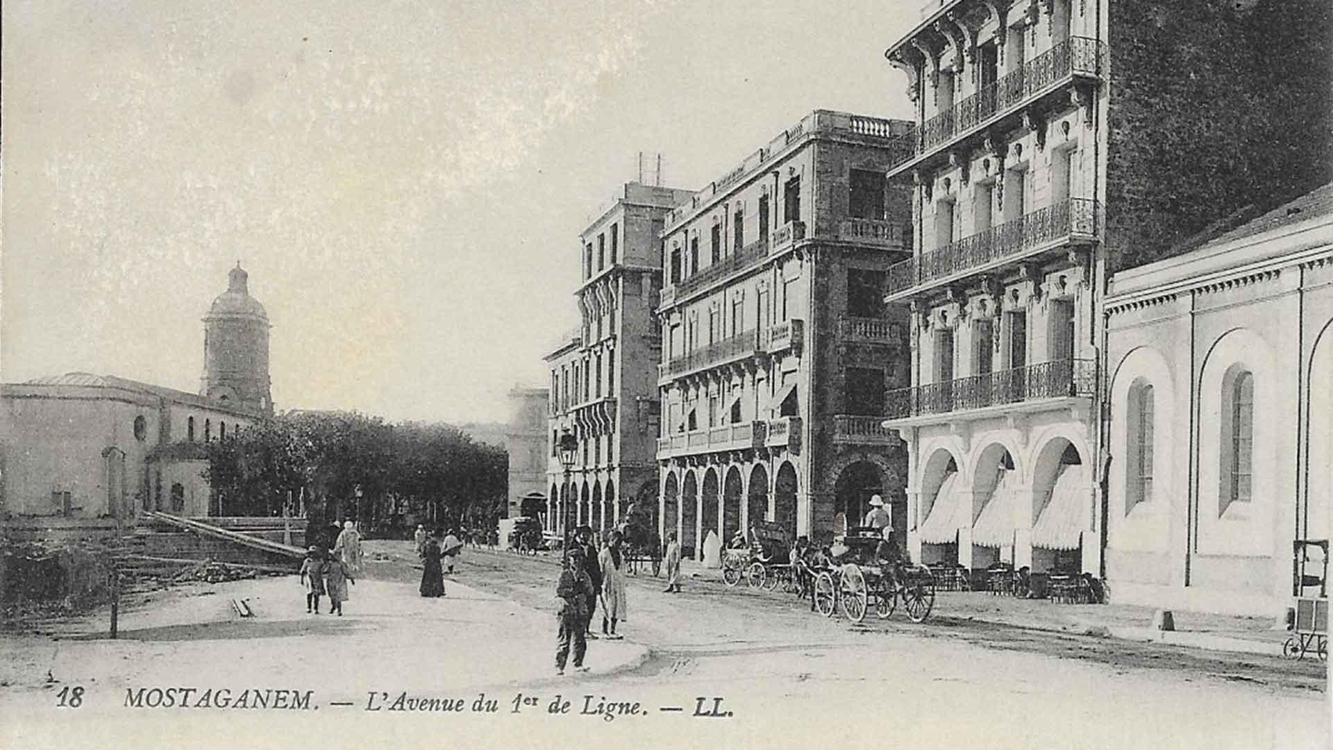 Mostaganem-Avenue-1er-Ligne