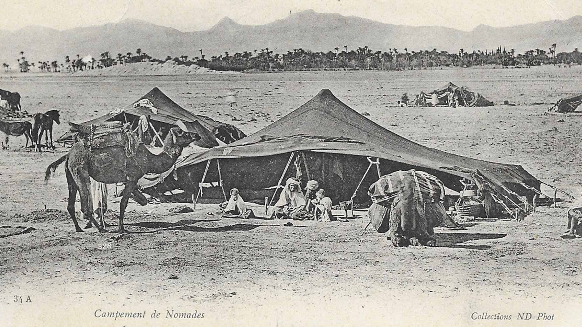 Campements-de-nomades