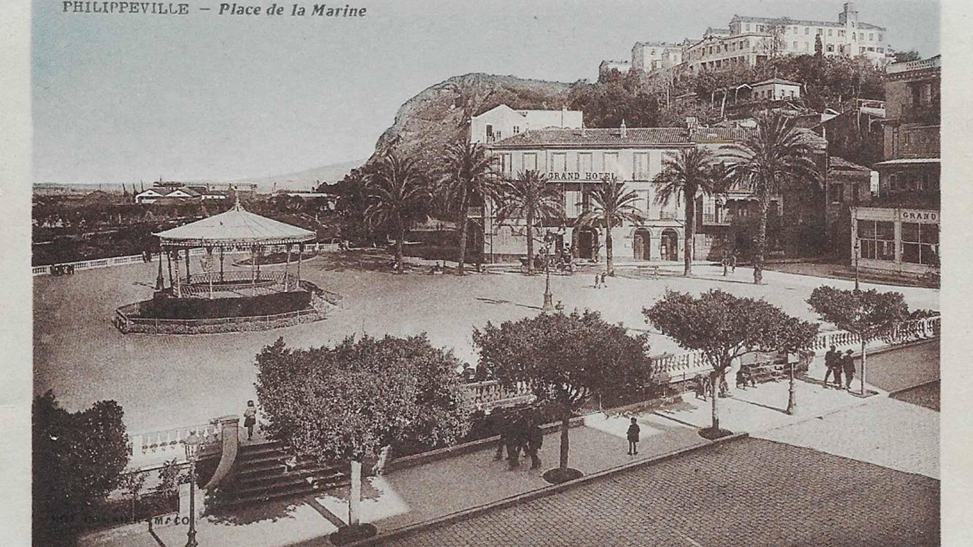 Philippeville-place-de-la-marine