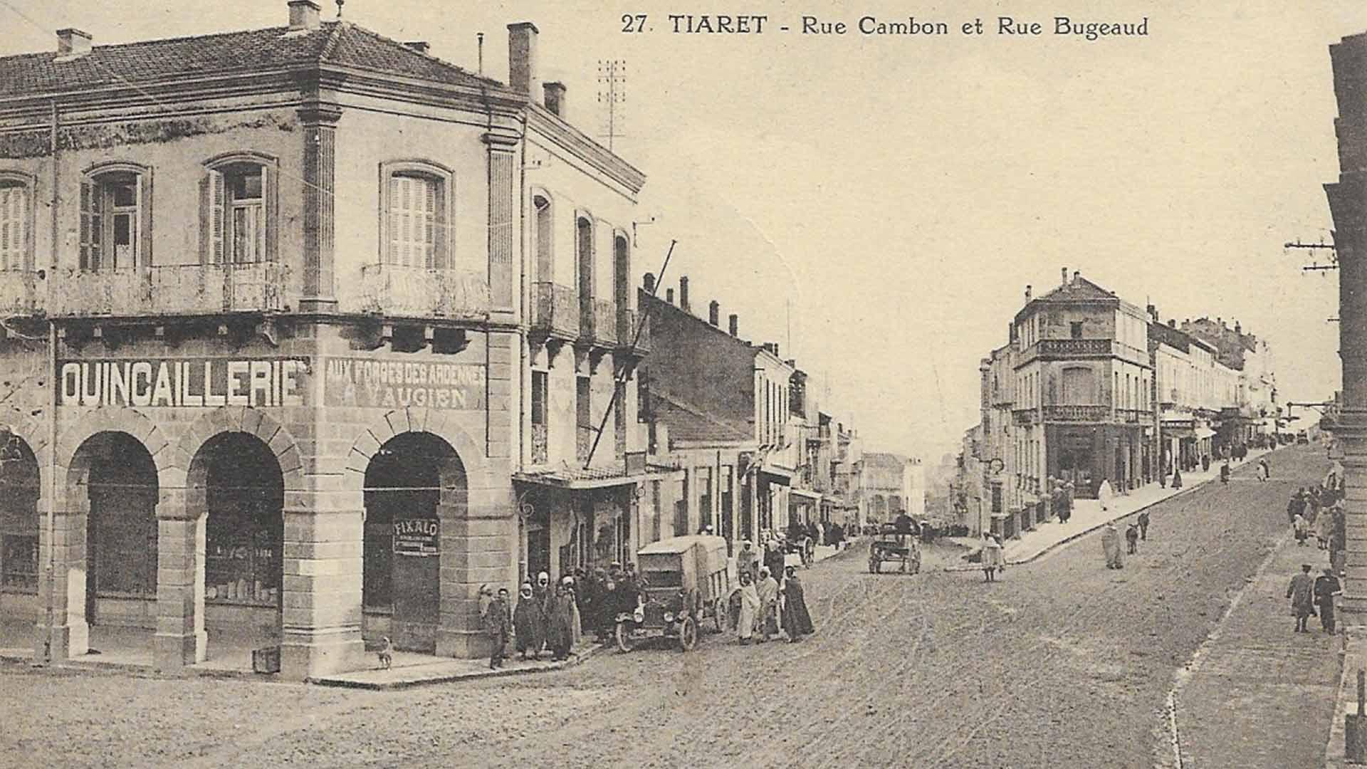 tiaret-rue-cambon-bugeaud